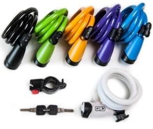 Candados de cable espiral